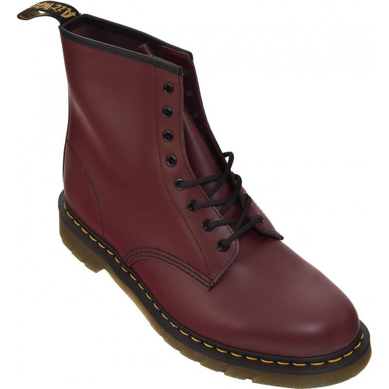 dr martens originals 1460 bottes grande taille homme rouge grandes shoes. Black Bedroom Furniture Sets. Home Design Ideas