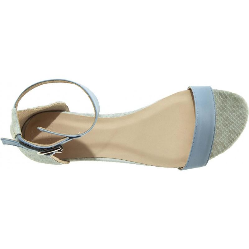 Shoevita - Flat Sandal Bleue