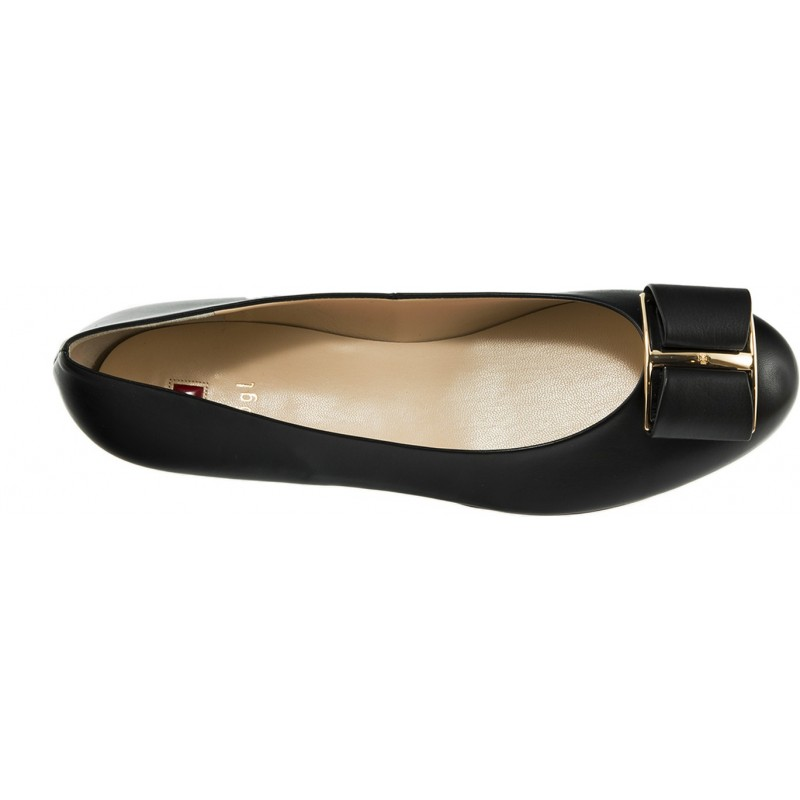 Hogl - Ballerina 3-101080 Noires