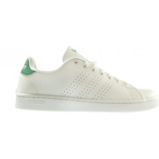 Adidas - Advantage Blanche Vert