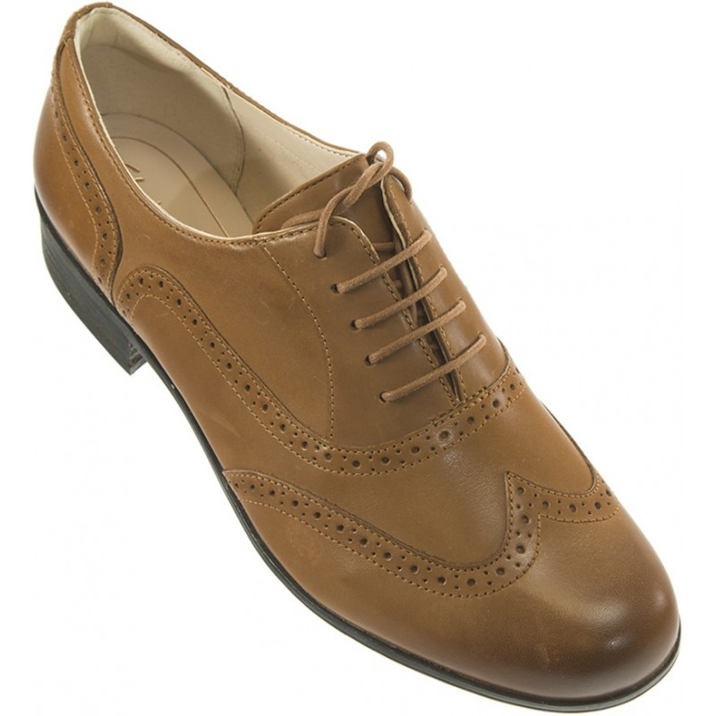 Clarks Hamble Oak Dark Tan Leather