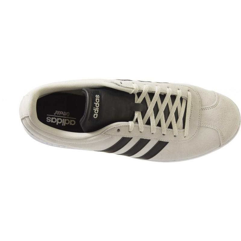 Adidas - VL Court 2.0 Gris Noir
