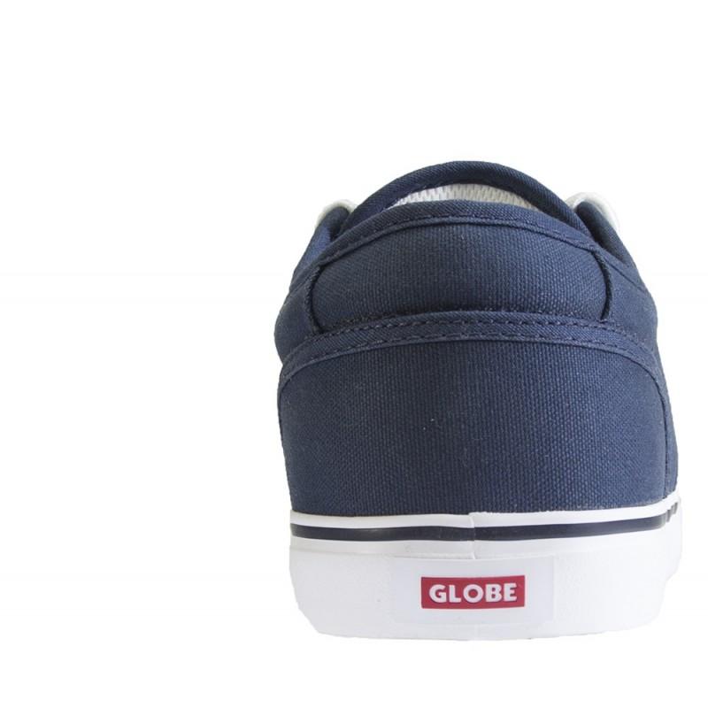 Globe - Motley Bleu Toile/Blanche